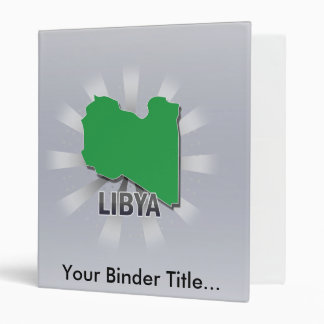 Mapa 2,0 de la bandera de Libia