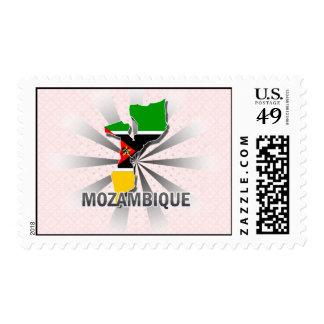Mapa 2,0 de la bandera de Mozambique Envio