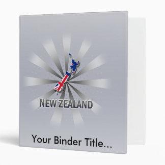 Mapa 2,0 de la bandera de Nueva Zelanda