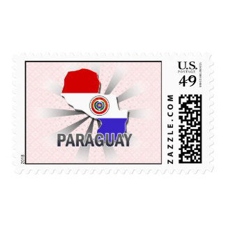 Mapa 2,0 de la bandera de Paraguay Sello
