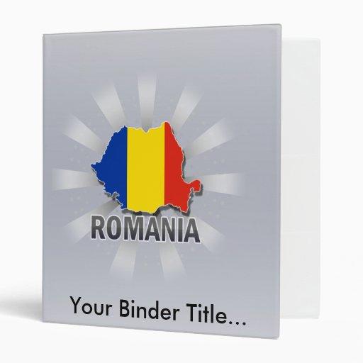 Mapa 2,0 de la bandera de Rumania