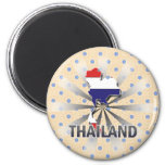 Mapa 2,0 de la bandera de Tailandia Iman De Nevera