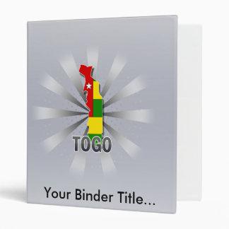 """Mapa 2,0 de la bandera de Togo Carpeta 1"""""""
