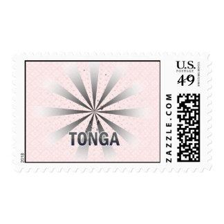 Mapa 2,0 de la bandera de Tonga Sello