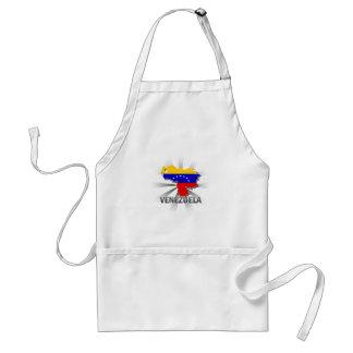 Mapa 2,0 de la bandera de Venezuela Delantal