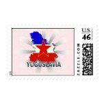 Mapa 2,0 de la bandera de Yugoslavia