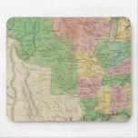 Mapa 2 de Estados Unidos Mousepads