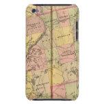 Mapa 2 de las tierras 3 de la madera barely there iPod protector