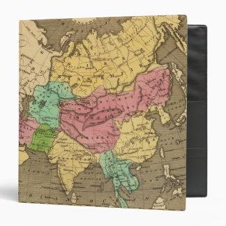 "Mapa 2 del atlas coloreado de la mano de Asia Carpeta 1 1/2"""