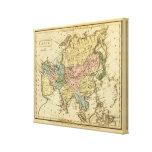 Mapa 2 del atlas coloreado de la mano de Asia Impresion En Lona