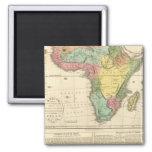 Mapa 2 del atlas de África Imán Cuadrado