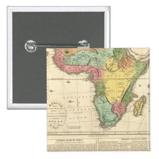 Mapa 2 del atlas de África Pins