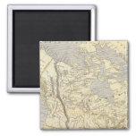 Mapa 2 del atlas de Norteamérica Imán De Frigorífico