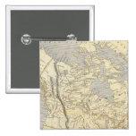 Mapa 2 del atlas de Norteamérica Pin Cuadrado