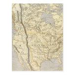 Mapa 2 del atlas de Norteamérica Postal