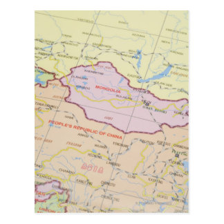 Mapa 2 tarjeta postal