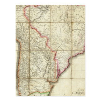 Mapa 3 de Suramérica Postales