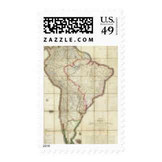 Mapa 3 de Suramérica Sello