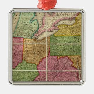 Mapa 4 de Estados Unidos Ornamentos De Reyes