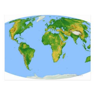 Mapa 4 de la vegetación postales