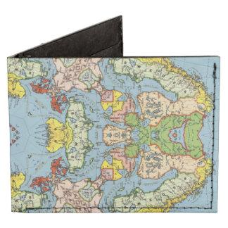 Mapa abstracto de Europa Billeteras Tyvek®