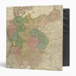 """Mapa alemán del imperio carpeta 1 1/2"""""""