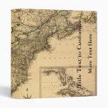"Mapa americano de las colonias del vintage 1777 po carpeta 1"""
