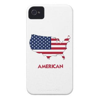 MAPA AMERICANO iPhone 4 CÁRCASAS