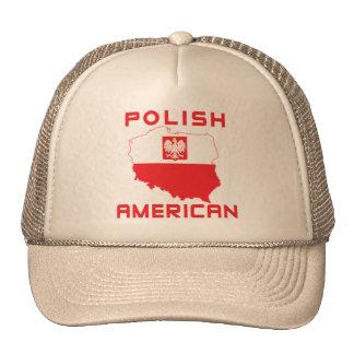 Mapa americano polaco gorro