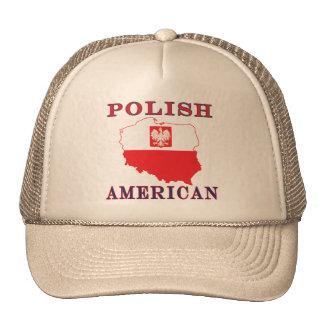 Mapa americano polaco gorra