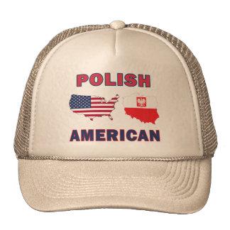 Mapa americano polaco gorros
