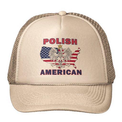Mapa americano polaco gorras