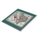 Mapa anticuario 1866 de Tejas por Schönberg y el C