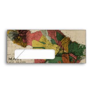 Mapa anticuario de la encuesta sobre Maui - Hawaii