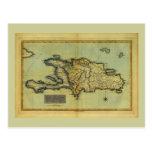 Mapa anticuario de la obra clásica 1823 de La Espa Tarjetas Postales