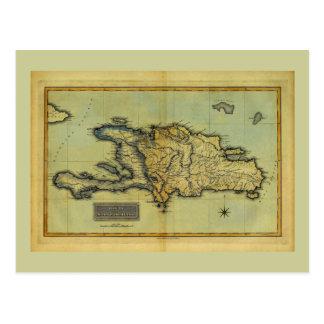 Mapa anticuario de la obra clásica 1823 de La Postal