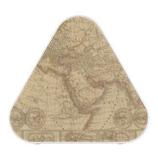 Mapa antiguo altavoz