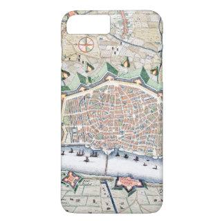 Mapa antiguo de Amberes Funda iPhone 7 Plus