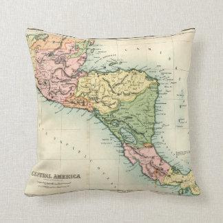 Mapa antiguo de America Central Cojines