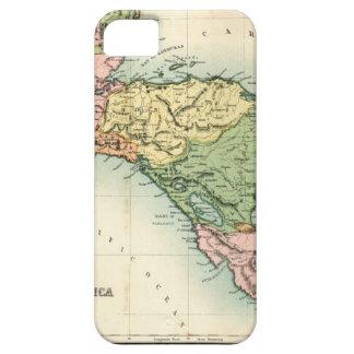 Mapa antiguo de America Central iPhone 5 Cobertura