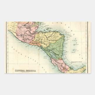 Mapa antiguo de America Central Rectangular Altavoz