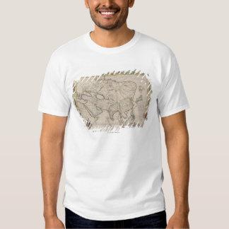 Mapa antiguo de Asia Camisas