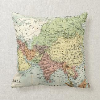 Mapa antiguo de Asia Cojines