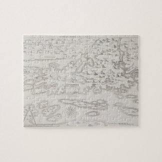 Mapa antiguo de Croacia Puzzle