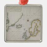 Mapa antiguo de Escandinavia 2 Ornamento De Reyes Magos