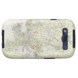 Mapa antiguo de Europa Galaxy S3 Protectores