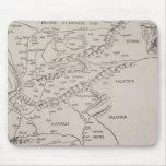 Mapa antiguo de Europa Oriental Tapete De Ratones