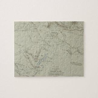 Mapa antiguo de Irán Puzzle