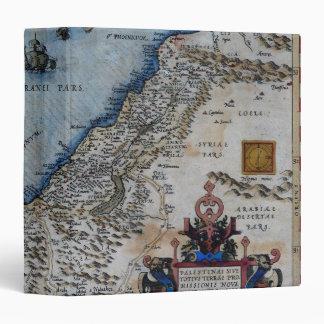 """Mapa antiguo de la Tierra Santa Carpeta 1 1/2"""""""