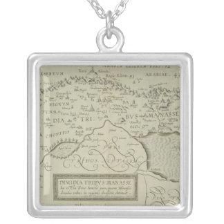 Mapa antiguo de la Tierra Santa Pendiente Personalizado